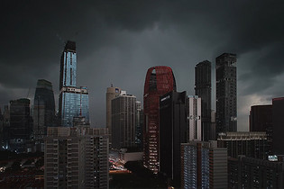 The Lion City II - Keith Loutit   移轴摄影下的狮城
